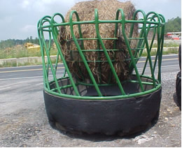 Haysaver Hay Feeders Leiden Land And Cattle Company Inc